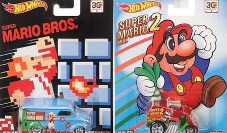 Mattel lanzaría Hot Wheels especiales para el 30 aniversario de Super Mario Bros