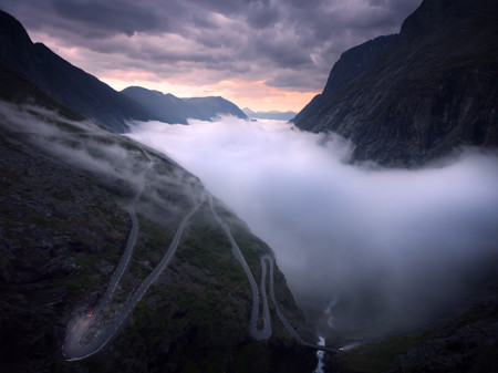 Andalsnes Norway Mountain Highway 90291 990x742