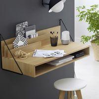 En La Redoute tenemos este escritorio de pared estilo nórdico por 156,75 euros y envío gratis