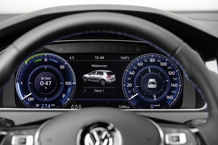 Volkswagen e-Golf cuadro digital