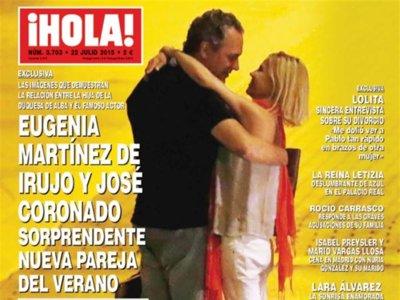 Quién lo iba a decir, Eugenia Martínez de Irujo se liga a José Coronado