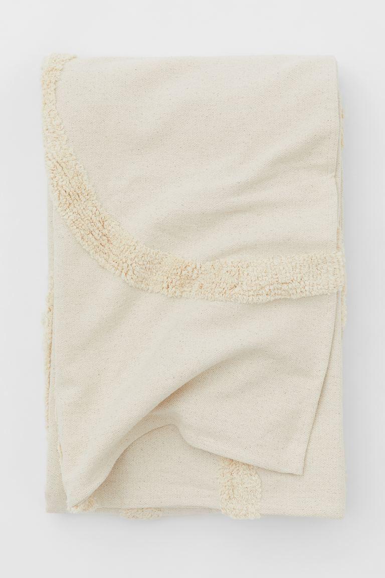 Cubrecama tufted de algodón