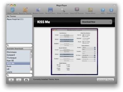 Magnifique, el deskmod vuelve a Mac OS X