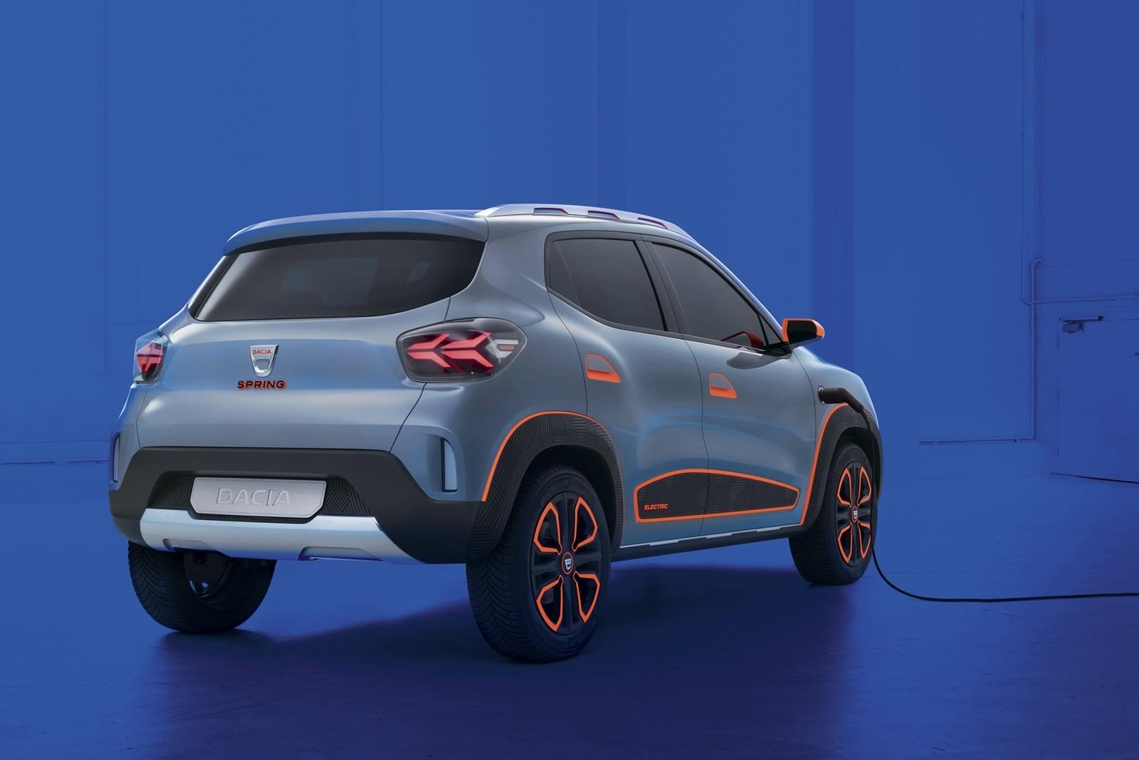 Foto de Dacia Spring Concept 2021 (4/5)