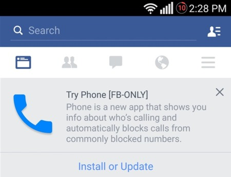 Try Phone Facebook