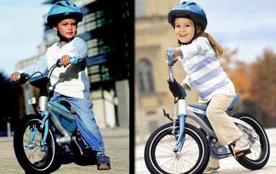 Nueva bici BMW para niños, sin y con pedales