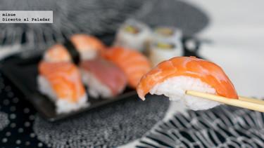 Sushi para llevar de Carrefour. Lo probamos