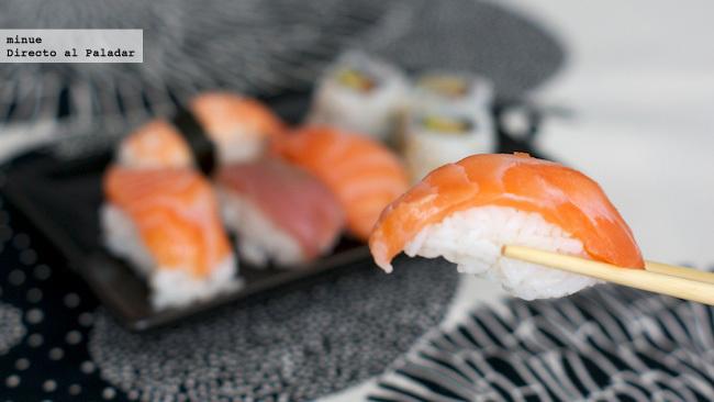 Sushi para llevar de carrefour - prueba