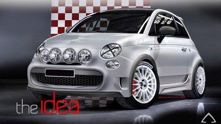 Camal Fiat 500 Marcia Corta, un guiño a los rallies clásicos