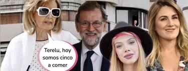 ¡La Campos se muda! La nueva choza de María Teresa y sus vecinos famosos en el barrio: desde Mariano Rajoy hasta Álvaro Muñoz Escassi