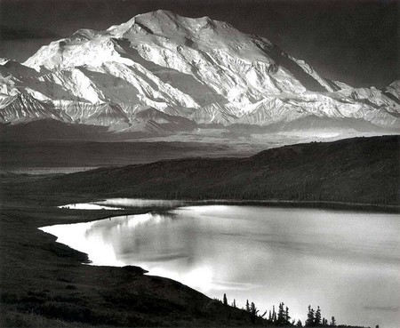 Ansel Adams Mount Mckinley And Wonder Lake Denali National Park And Preserve Alaska 1947 Od Larisy