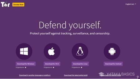 Bajar Tor Browser