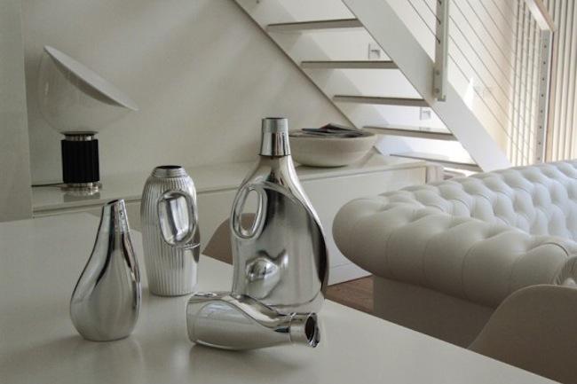 recicladecoracin jarrones modernos con botellas de plstico
