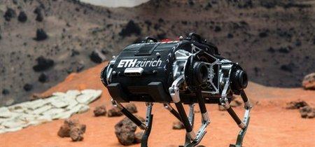 Los rover espaciales podrían ser sustituidos por Spacebok, un robot saltarín