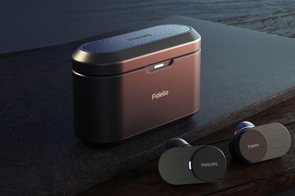 Philips Fidelio T1: aspirando a lo más alto entre los auriculares completamente inalámbricos con un sistema de sonido de doble vía