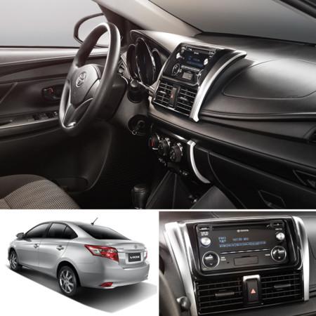 Toyota Yaris Sedan 2017: Precios, versiones y equipamiento ...