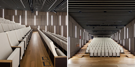 Basque culinary center - auditorio