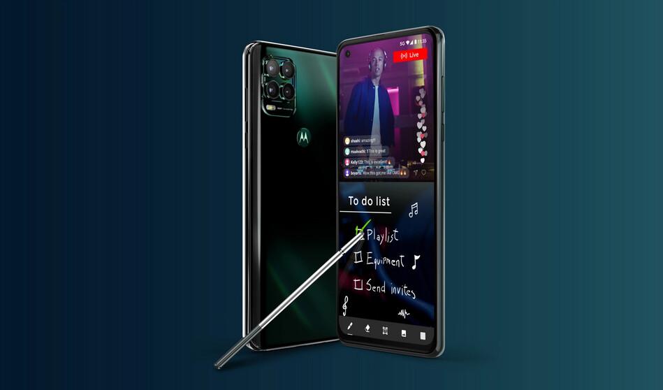 Nuevo Moto™ G Stylus 5G de Motorola: lo último en conectividad llega con un plus de batería y alguna cámara mejorada
