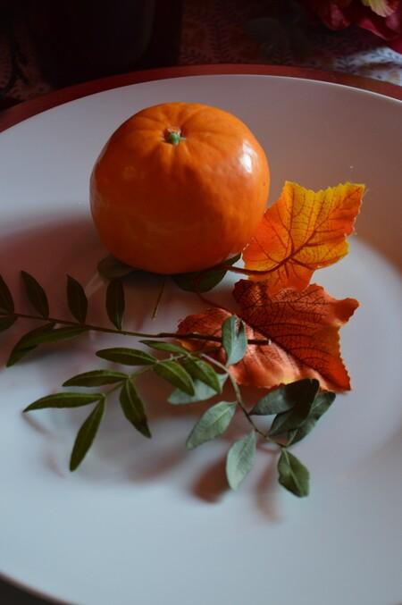 Decoración de mesas de otoño
