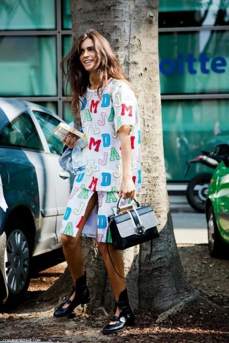 Las calles de Milán presentan estilismos difíciles de imitar