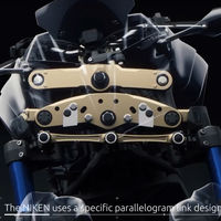En tres minutos de vídeo Yamaha te explica cómo funciona la suspensión doble de la Niken