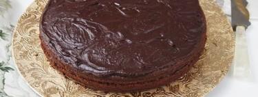 Pastel de lodo del Misisipi o Mississippi mud cake, receta tradicional de EEUU para amantes del chocolate (o no)