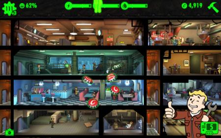 Fallout Shelter y la gestión de un refugio nuclear llegan por fin a Android