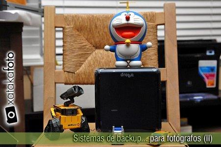 Sistemas de backup para fotógrafos (II)