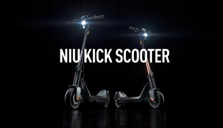 NIU Kick Scooter: el primer patinete eléctrico de NIU llega en dos versiones con hasta 50 kilómetros de autonomía