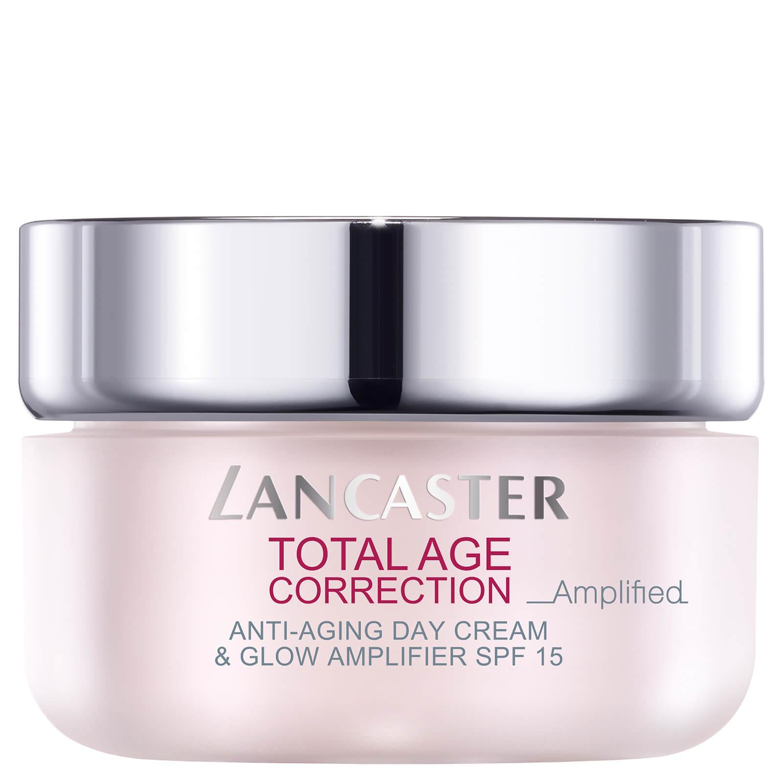 Crema de día Total Age Correction Antienvejecimiento y Luminosidad SPF 15 Lancaster