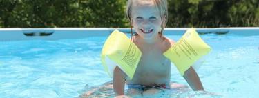 Ayuda a garantizar la seguridad en la piscina con este juego de niños