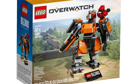Bastion inaugura la colección LEGO Overwatch. Ya está disponible en la store online de Blizzard