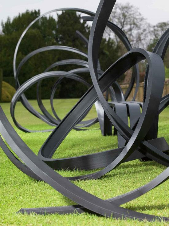 Sudeley, un banco escultural