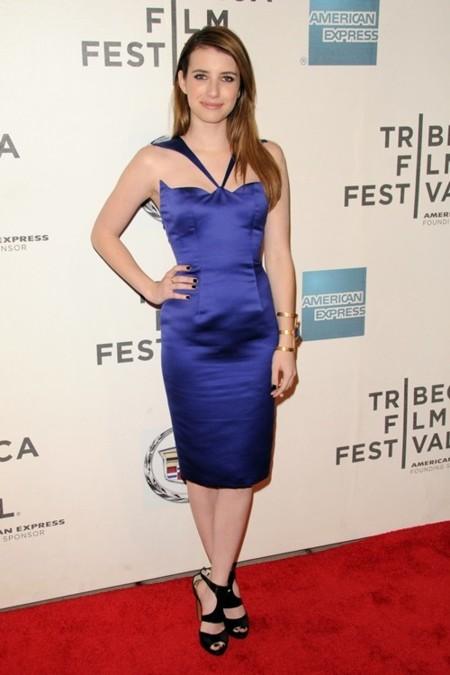 Espejito dime tú, ¿quién es la más sexy de Tribeca? ¿Olivia Wilde, Emma Roberts o Karolina Kurkova?