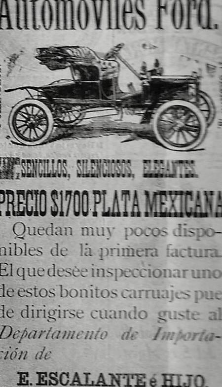Primeros Autos En Mexico 2