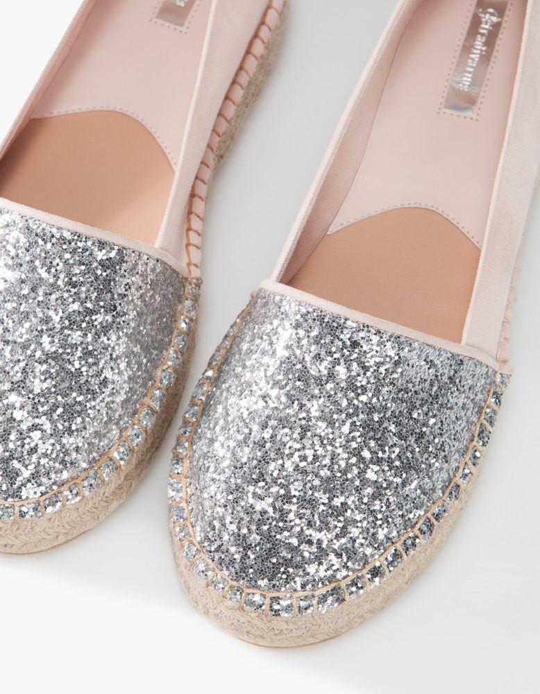 Alpargatas con glitter