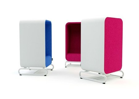 The Box Lounger, un asiento que proporciona intimidad
