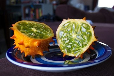 El kiwano o melón africano