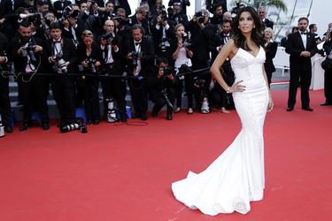 El glamour de Cannes (baja de nivel) en la premiere de Saint Laurent