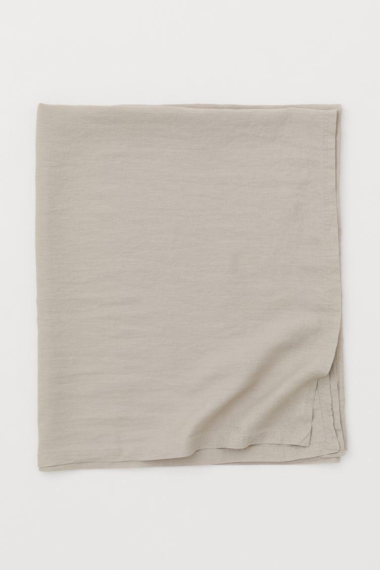 Mantel en lino lavado 140 x 240