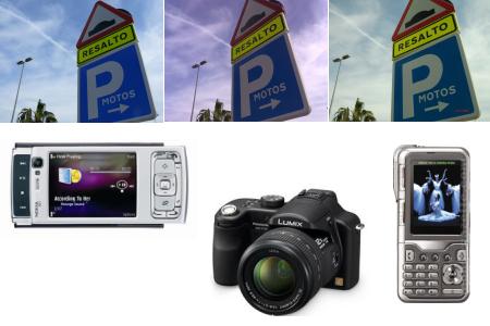 Fotos con el Nokia N95