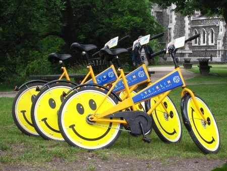 Bici pública Copenhaguen
