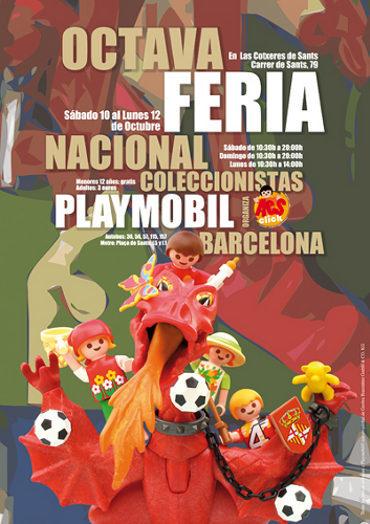 Feria Nacional de coleccionistas de Playmobil en Barcelona