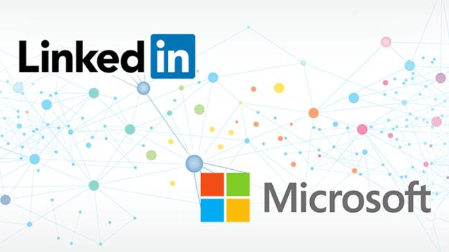 Microsoft Linkedin Web Share