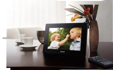Sony le pone vídeo en serio a sus nuevos marcos de fotos digitales