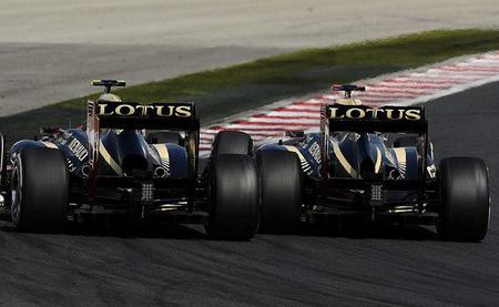 Lotus evolucionará su coche hasta el final de esta temporada