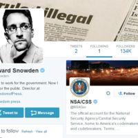 """""""¿Ahora me escuchan?"""": Edward Snowden se estrena en Twitter... y sólo sigue a la NSA"""