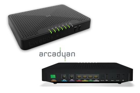 Router Orange Livebox