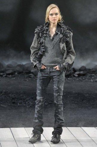 Chanel Otoño-Invierno 2011/2012 gris