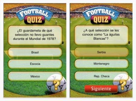 Football Mania y Football Quiz, el Mundial del Fútbol transformado en enentretenimiento digital